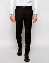 French Connection Plain Slim Fit Suit Trouser - Black
