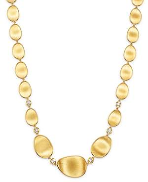 Marco Bicego 18K Yellow Gold Lunaria Diamond Collar Necklace, 17.25