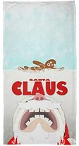 Old Glory Christmas Santa Jaws Claus Horror All Over Beach Towel