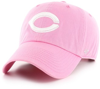 '47 Women's Cincinnati Reds Rose Adjustable Cap