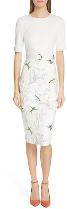 Ted Baker Kinnya Fortune Belted Body-Con Dress