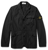 Stone Island David Tela Slim-Fit Garment-Dyed Shell Jacket