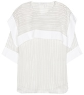 Chloé Silk and cotton top