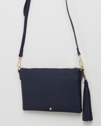 PETA AND JAIN - Women's Navy Cross-body bags - Kourtney Crossbody Bag - Size One Size at The Iconic
