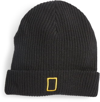 Parks Project x National Geographic Ribbed Cotton Beanie