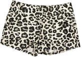 Alice + Olivia Metallic Leopard Shorts