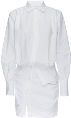 Frame Asymmetrical Shirtdress