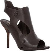 Max Studio Enola Leather Cut Out High Heeled Sandals