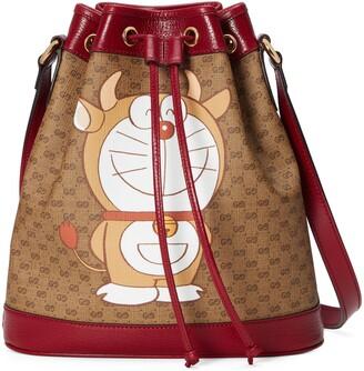 Gucci Doraemon x small bucket bag