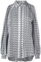 Kenzo diagonal stripes blouse