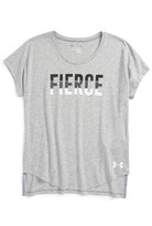 Under Armour Girl's Fierce Graphic Tee