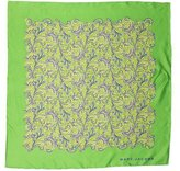 Marc Jacobs Paisley Print Silk Scarf