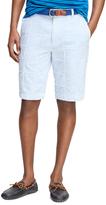 Brooks Brothers Seersucker Patch Bermuda Shorts