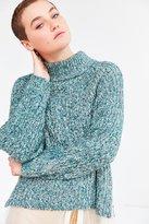Silence & Noise Silence + Noise Easton Mock Neck Sweater