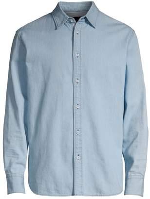 Rag & Bone Denim Button-Down Shirt
