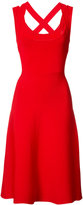 Alexander Wang cross-back dress - women - Nylon/Spandex/Elastane/Viscose - XS