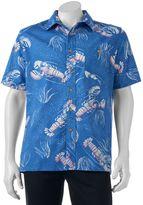 Croft & Barrow Men's Classic-Fit Tropical Button-Down Shirt