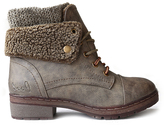 Coolway Khaki Bring Leather Ankle Boot