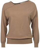 Ya-Ya Asymmetrical Neckline Sweater
