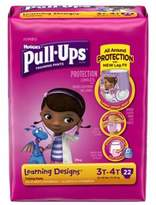 Huggies Pull-Ups® Learning Designs® Jumbo 22-Count Disposable Girl's 3T in 4T Training Pants