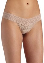 Only Hearts Women's Stretch Lace Thong Panty