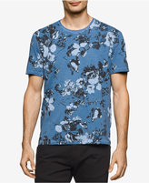 Calvin Klein Jeans Men's Washed Floral-Print T-Shirt