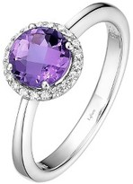 Lafonn Women's Birthstone Halo Ring