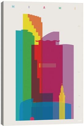iCanvas 'Miami' Giclee Print Canvas Art