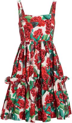 Cara Cara Sasha Floral Cotton Mini Dress