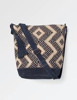 Fat Face Tia Hessian Weave Cross Body Bag