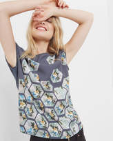 Ted Baker Patchwork T-shirt