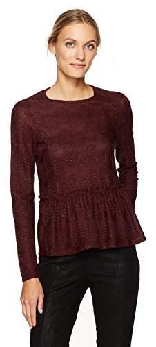 M Missoni Women's Lurex Jersey Blouse