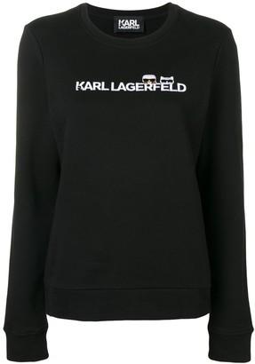 Karl Lagerfeld Paris Ikonik & logo sweatshirt