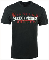 Colosseum Men's Indiana Hoosiers Verbiage Stack T-Shirt