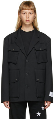 Études Black Pocket Earth Blazer