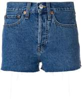 RE/DONE raw edge shorts