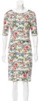 Erdem Floral Print Wilhemina Dress