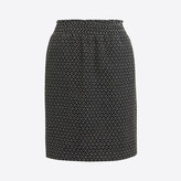 J.Crew Factory Dot jacquard mini skirt