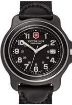Victorinox Men's Original Extra Large Nylon Strap Watch, 43mm