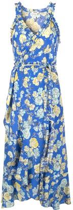 Jason Wu Ruffle Trim Midi Dress