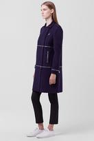 Diane von Furstenberg 1 2 3 Zip Coat