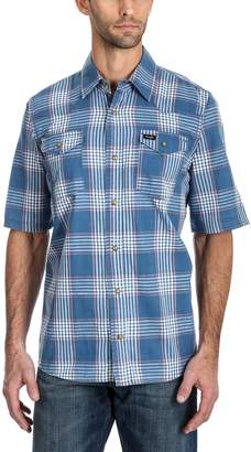 Wrangler Men's Plaid Snap-Front Shirt