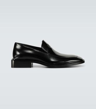 Balenciaga Coin Rim leather loafers