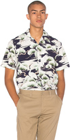 Gitman Brothers S/S Open Collar Button Down