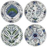 OKA Isphahan Porcelain Plates, Set of 4