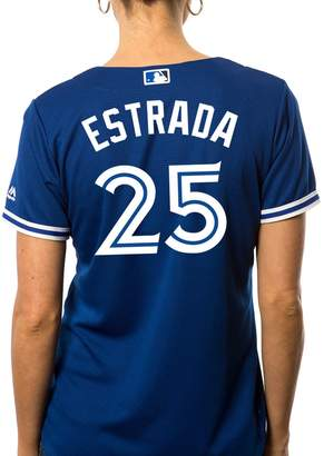 Majestic Ladies Marco Estrada Toronto Blue Jays Cool Base Replica Away Jersey