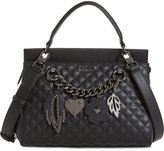 GUESS Stassie Small Top-Handle Flap Satchel