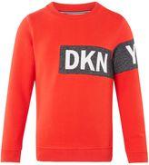 DKNY Boys Contrast Sweatshirt