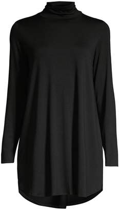 Eileen Fisher Longline Turtleneck Top
