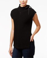 Jessica Simpson Elin High-Low Mock-Neck Sweater